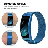New Color Mesh Loop Band 18mm Solid Magnetic Milanese Watch Band Blue Color Band for Fit2