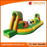 Juguete inflable de Outsport del trapo del túnel corriente inflable del balompié (T9-252)