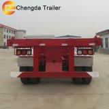 De recipiente do transporte reboque Semi, caminhão de reboque do chassi