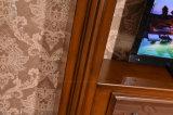 거실 가구 텔레비젼 대 조각품 MDF 유럽 전기 벽난로