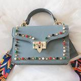 2017 nuovi sacchetti di mano di acquisto della ragazza della borsa della signora Sude Bag Woman Candy di disegno con il prezzo di fabbrica Sy8639