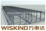 倉庫の工場建物のためのWiskind Q345bの軽い鉄骨構造