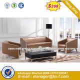 Sofá de cuero de ocio moderno mobiliario de Casa (HX-S270)