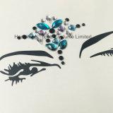 Стикер глаза Rhinestone состава глаза партии стикера тени глаза ювелирных изделий Self-Adhesive (S015)