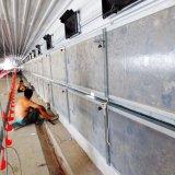 Porte de panneau en acier pour le grilleur dans la Chambre de volaille