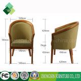 Cadeira clássica da parte traseira redonda do século MEADOS DE para a sala de visitas (ZSC-73)