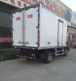 3-5ton 4X2によって冷やされているトラックのフリーザーボックストラック