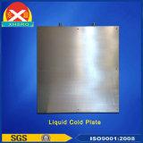 Extrusión de Aluminio de agua de refrigeración Disipador de calor del fabricante, con solución de diseño