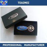 De Speciale 3D Ring van uitstekende kwaliteit van de Ketting van het Metaal van het Embleem van de Auto Zeer belangrijke voor Universele Auto's