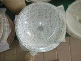 Dessus de vanité au-dessus de contre- lavabo de salle de bains de bassin de granit de lavabo de marbre de bassin