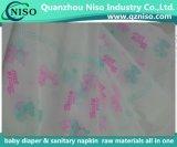おむつまたは生理用ナプキンのためのまたはパッド(LSPEM8901)の下の多彩な印刷のPEのフィルムBacksheet