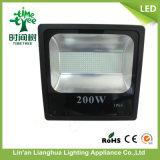 2017 nueva luz de inundación al aire libre del poder más elevado 200W LED del estilo con el Ce RoHS