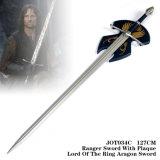 Senhor da espada de Aragorn dos anéis com bainha 127cm Jot034c