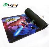 Высокое качество печати логотип дешевые расширенный Большой резиновый коврик для мыши для игр