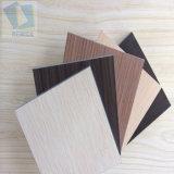 Multi-funcional estable, resistente al agua de calidad de compacto HPL placa decorativa para el panel de pared de China