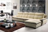 Sofá seccional moderno del cuero genuino con la esquina