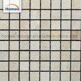tegel van de Mozaïeken van de Muur van Marfil van de Room van de Vorm van 23X23mm de Vierkante Beige Marmeren