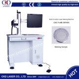 Máquina caliente de la marca del laser del vector de la insignia del laboratorio del metal de la venta 2017