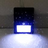 8개의 LED 옥외를 위한 태양 강화된 운동 측정기 벽 빛
