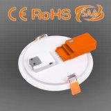 6W LED runde Instrumententafel-Leuchte mit CCT-veränderbarer Funktion