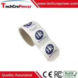 La impresión de encargo Paper/PVC RFID de la venta caliente marca la etiqueta engomada con etiqueta con Mf1 S50