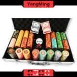 El conjunto de chips de poker de Texas (YM-TZPK001)