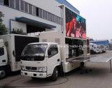 Горячее сбывание 5 тонн передвижной рекламируя тележки с водоустойчивым экраном