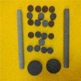 Tube/mèche en céramique poreux personnalisés pour la cigarette électronique