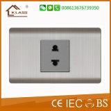 Elektrischer Schalter des MetallEdelstahl-3gang 10A 220V