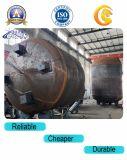 Réservoir de stockage au sol cylindrique d'essence