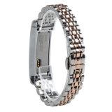 Alta de la muñequera Fitbit para bandas de acero inoxidable correa de sustitución