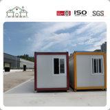 Casa de escritório Prefab econômica customizável do recipiente do bloco liso