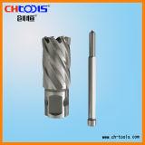 Morceaux de foret de magnétique de HSS 50mm avec la partie lisse universelle
