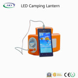 Lanterna di campeggio ricaricabile di plastica chiara esterna del LED