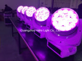 Vello LED RGBWの洗浄ズームレンズの移動ヘッド段階ライト(LED XP300)