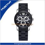 Chronographe multifonction Quartz lumineux montre-bracelet à la mode