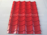 0,16 0,18 0,22 PPGI techado de corrugado planchas de acero galvanizado Roofing