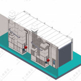 판매 산업 큰 색칠 장비 버스 살포 오븐을%s 트럭 살포 부스