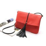 Saco luxuoso de couro do mensageiro do Tassel do saco de noite do desenhador das bolsas da senhora PLUTÔNIO (WDL0960)