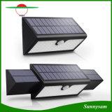 """Lumière sans fil actionnée solaire lumineuse superbe extérieure légère solaire de mur de degré de sécurité de détecteur de mouvement de 71 DEL avec 3 """"copies claire"""""""