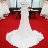 [هيغقوليتي] أحد سوفت ثوب زفافيّ مع [بلستس] ووشاح [ويستبند] عباءة
