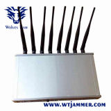 16 GSM van de Telefoon CDMA van de Desktop van de band de Mobiele 3G 4G Stoorzender van de UHF-radio van wi-FI Lojack VHF