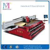 imprimante à jet d'encre UV d'imprimante à plat de papier de mur de tête d'impression de Ricoh Gen5 d'imprimante à jet d'encre de grand format du mètre 2.5meter*1.2
