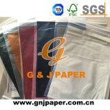 Papel de embalaje transparente del regalo del color de la gran calidad