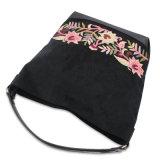 Signora di cuoio Handbag dell'unità di elaborazione di stampa della borsa del fiore della borsa del ricamo