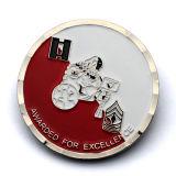 Usine Hallenge métalliques personnalisées de gros de pièces de monnaie commémoratives Médaille militaire thaïlandais