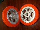 ゴム製車輪の熱伝達のローラー