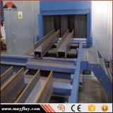 Placa de acero de China haz automático Pre-Treatment H de la superficie del rodillo de Granallado Máquina de limpieza