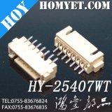 Design quente SMT ângulo direito 2,54 mm 7 pinos do conector FFC/FPC