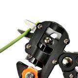 - Легкий и снизить утомляемость руки сад плодовых деревьев PRO Pruning ножницы Scissor Grafting режущих инструментов в соответствии с 2 дополнительные острые лезвия, с плоским лезвием ключа Esg10432